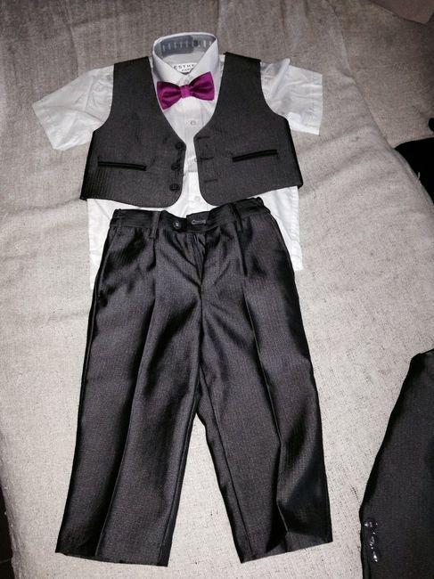 Les tenues de vos enfants d'honneur - 1