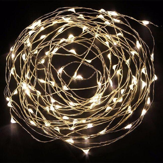 guirlande lumineuse fil de fer