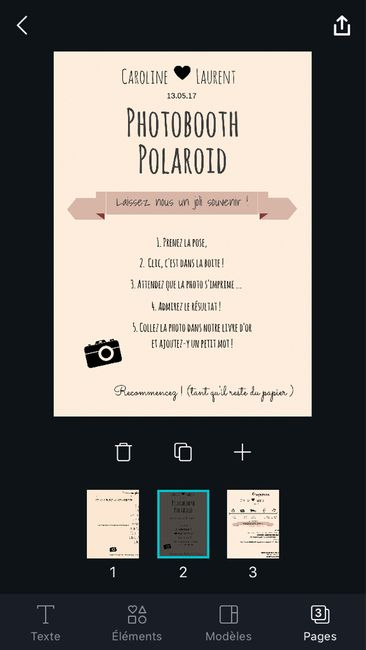 Affiche consigne photobooth - 1