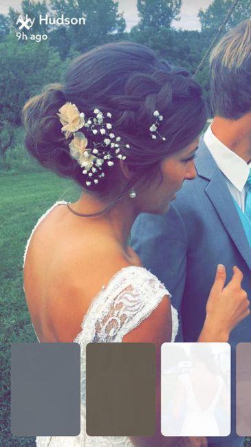 Coiffure mariage champêtre romantique 14