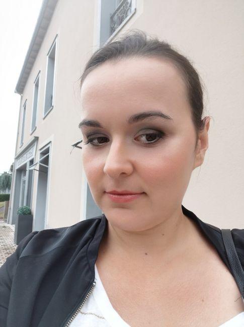J-30, essais coiffure & maquillage 5
