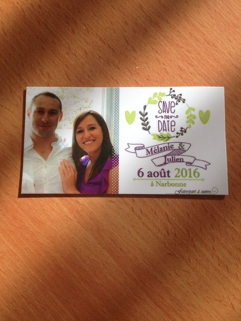 Notre Save The Date!