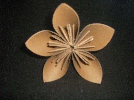 Tuto fleur kusudama 9