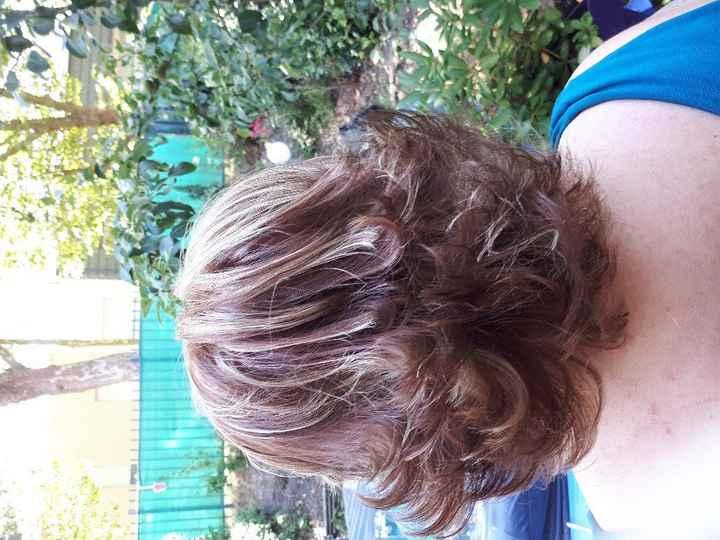 Réessayage robe et essai coiffure. - 5