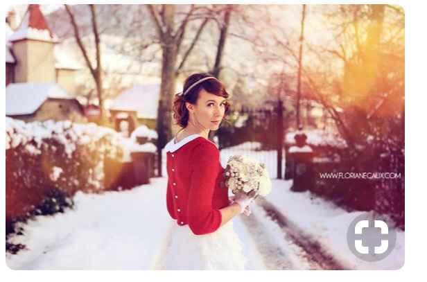 Inspiration: Mariage hivernal ❄️ ⛄️❤️ - 10