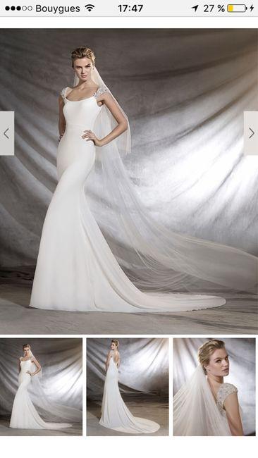 Et après le mariage ... vous avez fait quoi de votre robe??? - 2