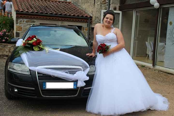 la voiture de la mariée