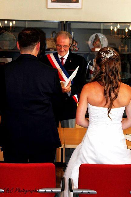 Me voilà mariée 😄😍 1