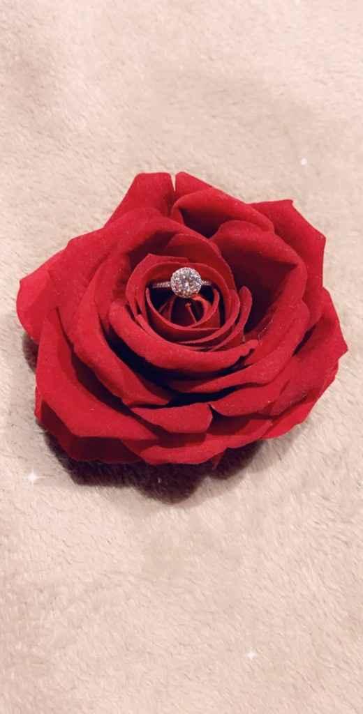Je me suis fiancé(e) le : ____ - 1