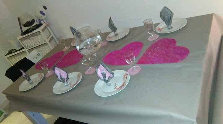 Decoration de table quest ce que vous en pensez? - 1