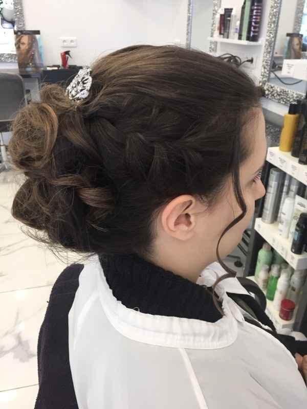 Essai maquillage, coiffure et robe - 1