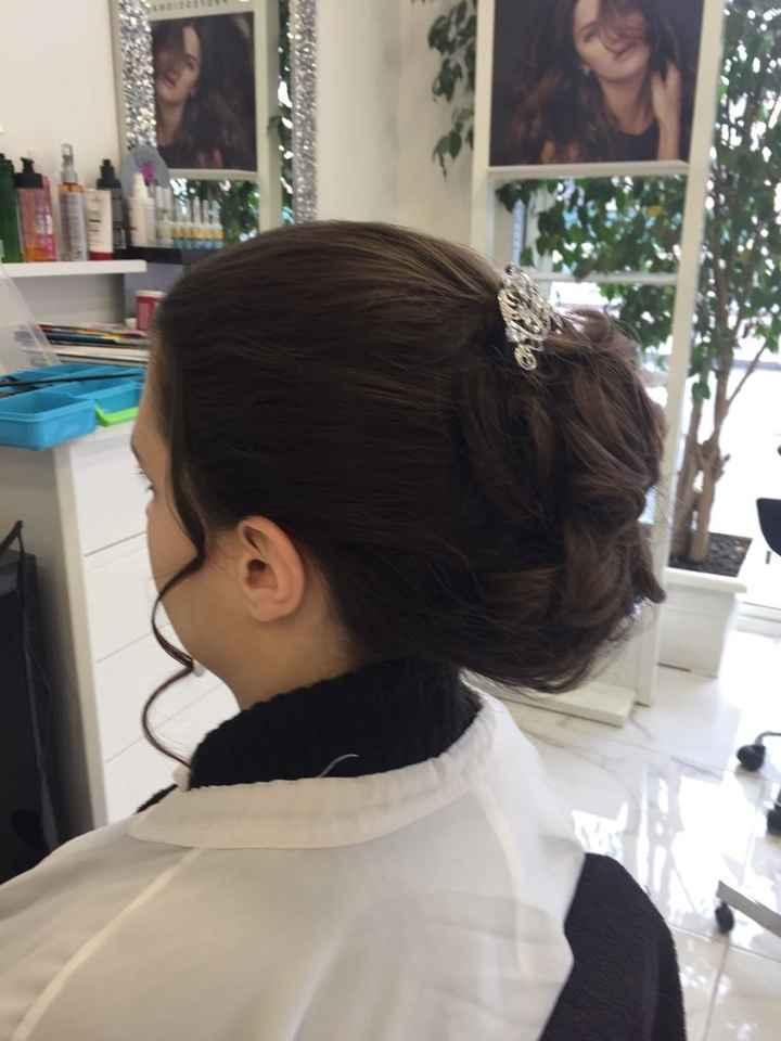 Essai maquillage, coiffure et robe - 2