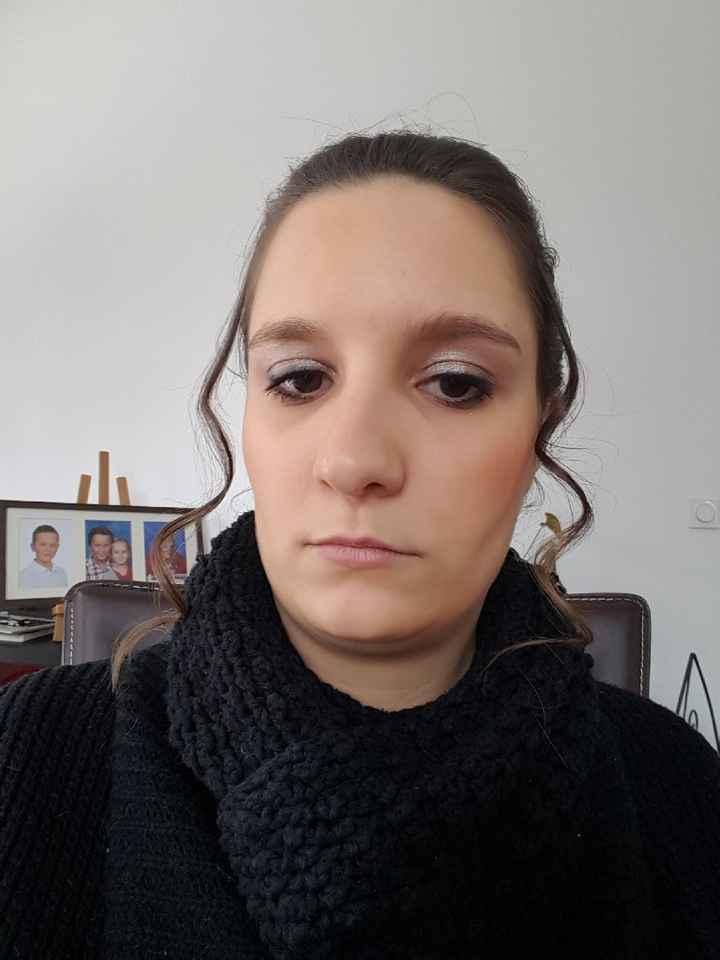 Essai maquillage, coiffure et robe - 4