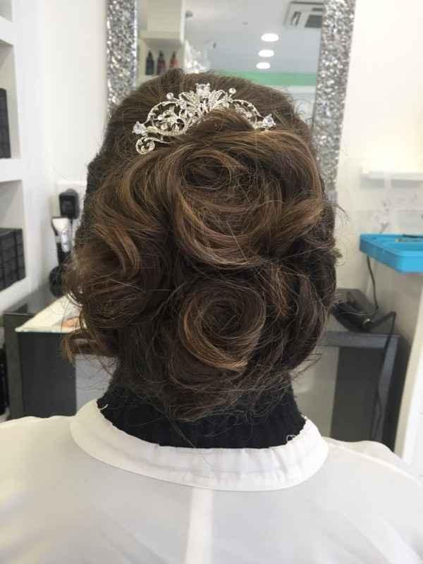 Coiffure de la mariée - 2