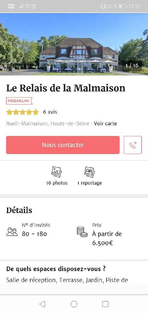 Avis Le Relais de La Malmaison 😣 - 1