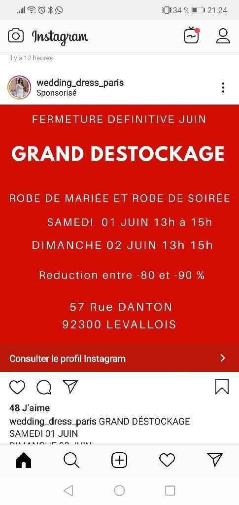 Robes destockage Paris Levallois - 1