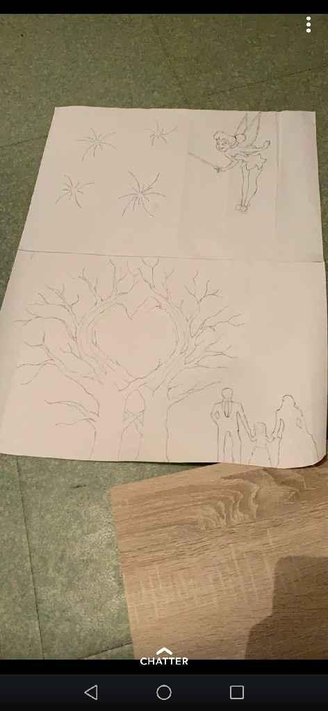 Début arbre à empreintes - 1
