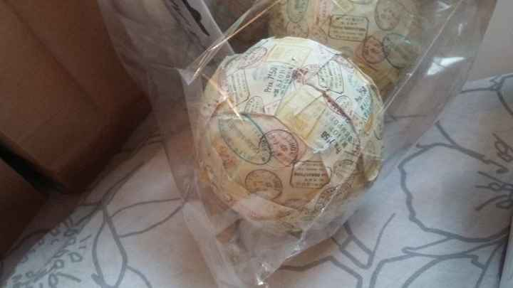 Boule globe terrestre theme  voyage