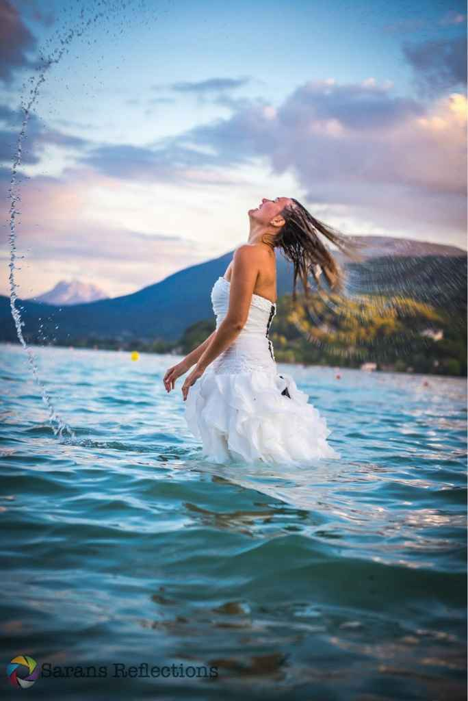 "Séance photo ""trash the dress"" - 1"