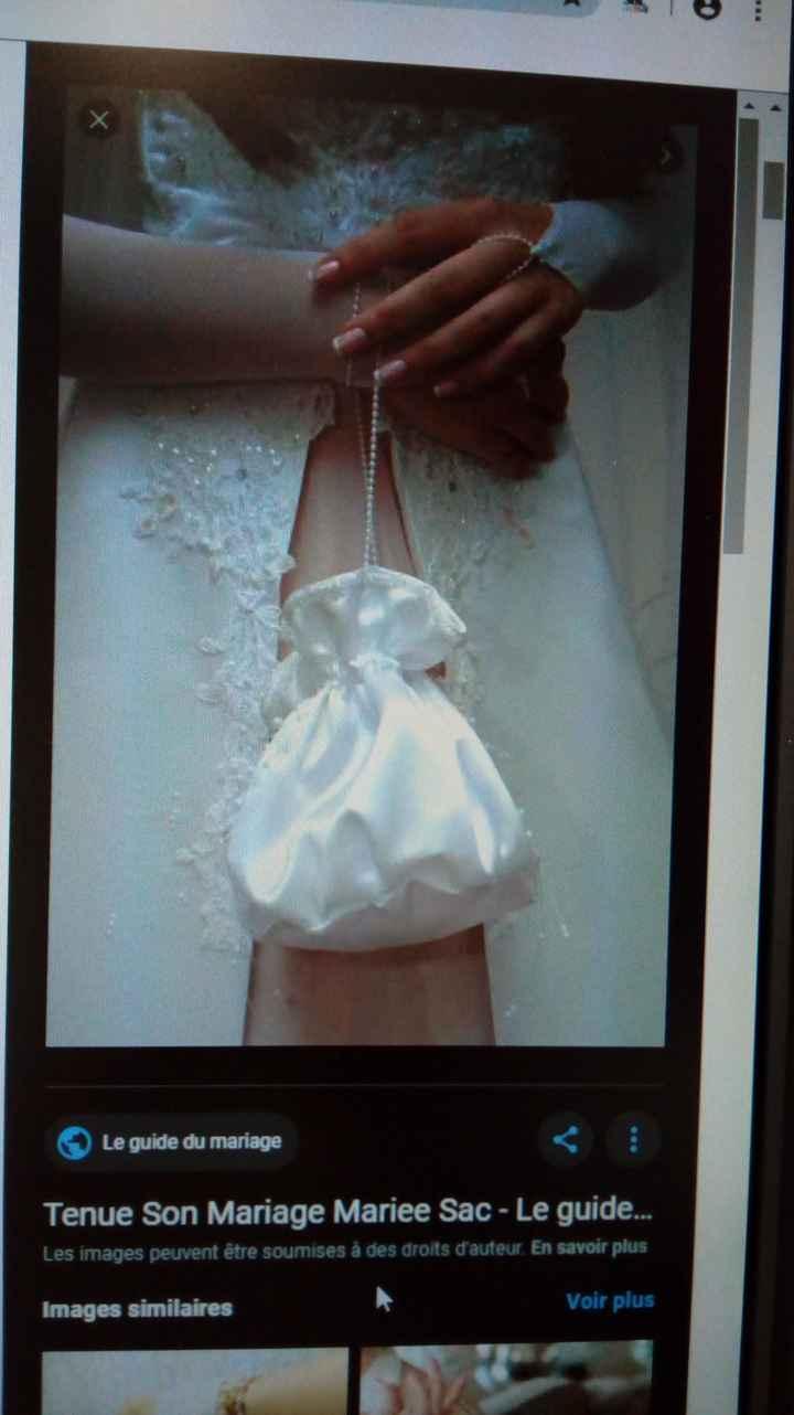 Auras-tu un sac pour tes affaires le jour J ? - 1