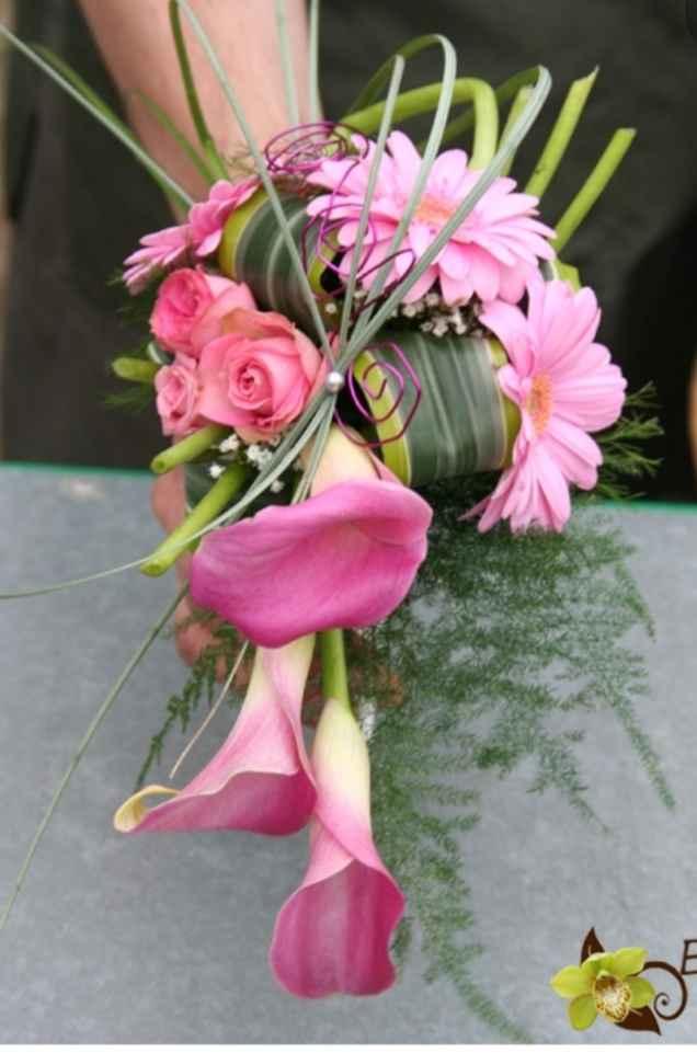 Bouquet de mariée avec des callas 5