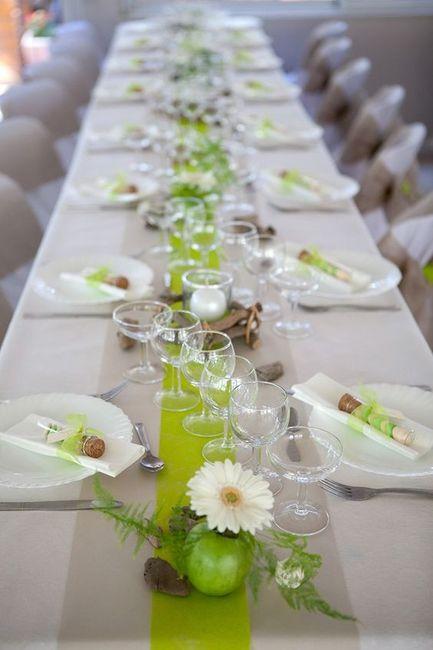 idee deco de table mariage pas cher