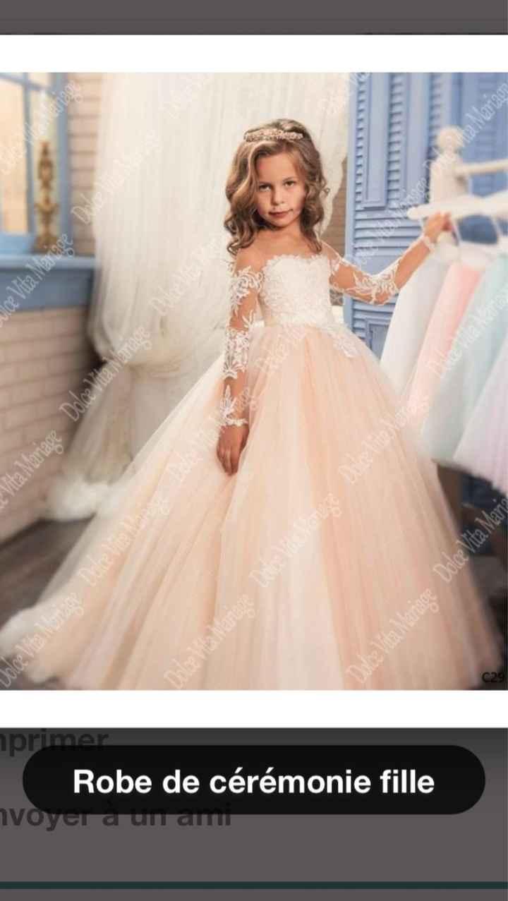 Robe mariées petite fille - 1