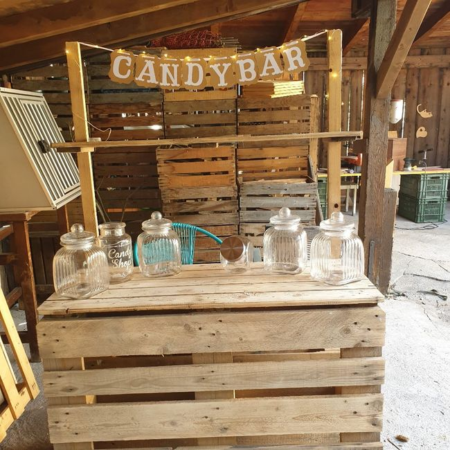 Candy bar/wedding bar 9