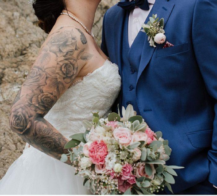 Verra-t-on tes tatouages le jour du mariage ? 3