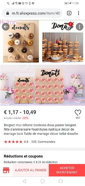 Avis stand donuts 1
