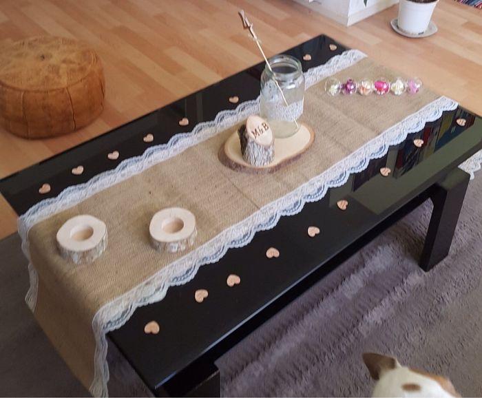 Besoin de vos avis décoration table - 1