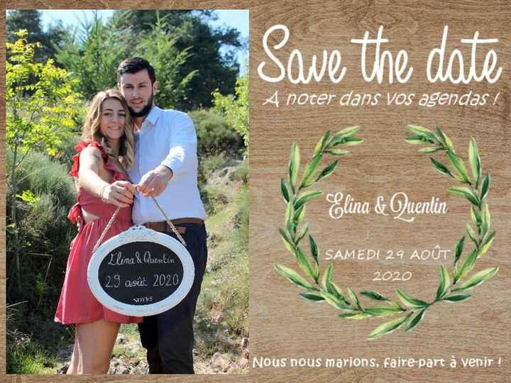 Save the date envoyé - 1