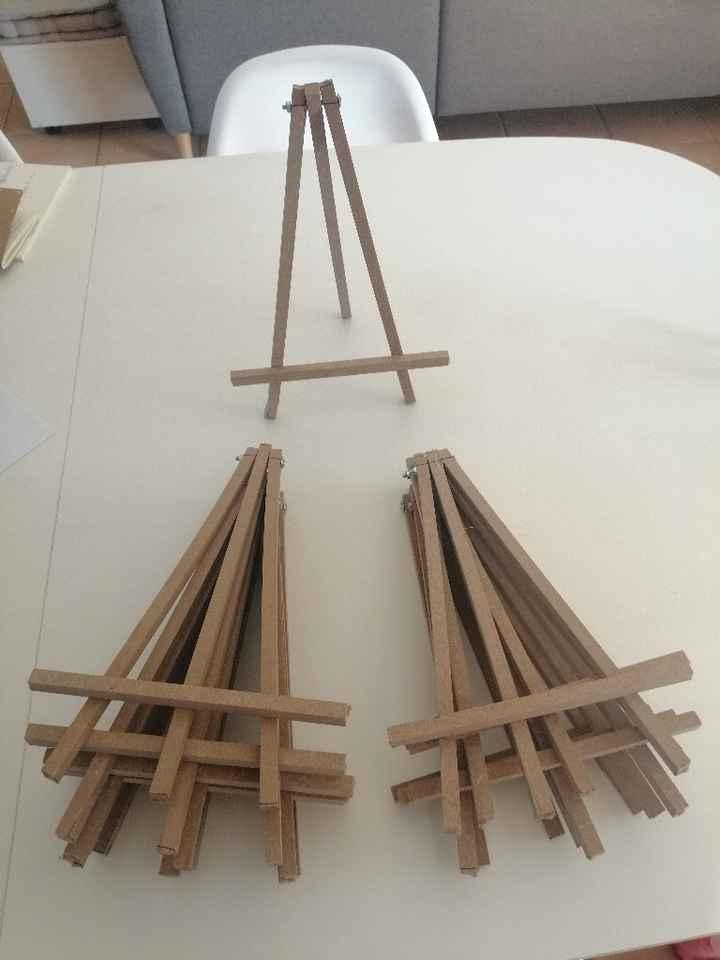 Diy Chevalets de table - 1