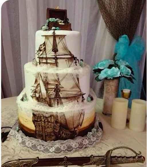 Le wedding cake :