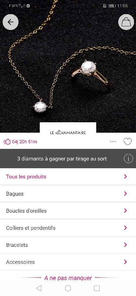 Ventes privées Bijoux ! - 2