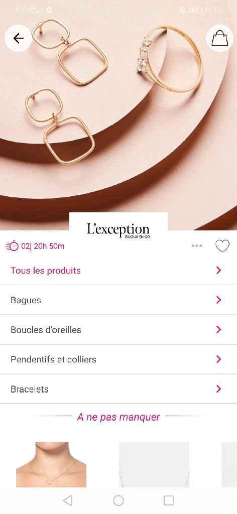 Ventes privées Bijoux ! - 3