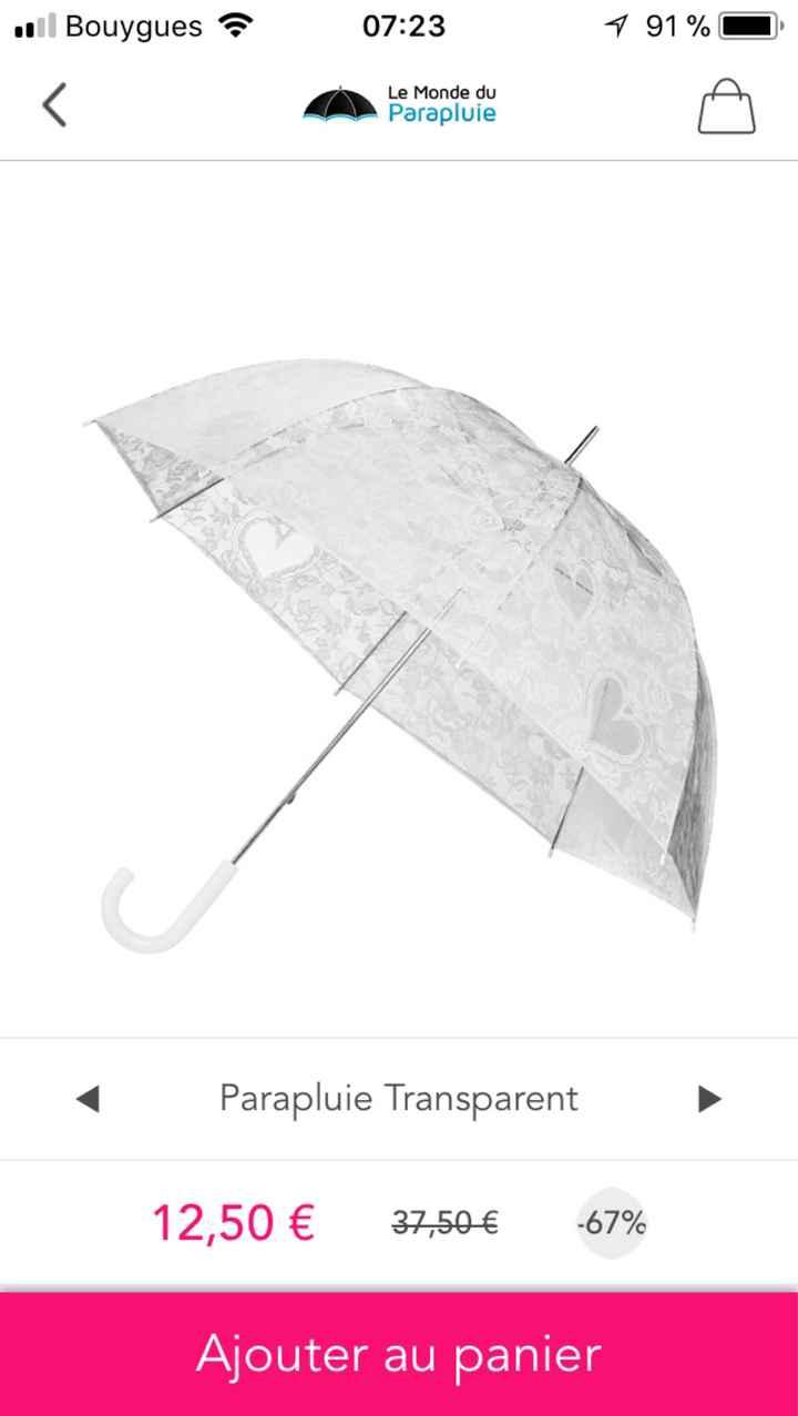 Danse du parapluie - 1