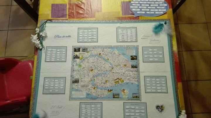 Plan de table Venise