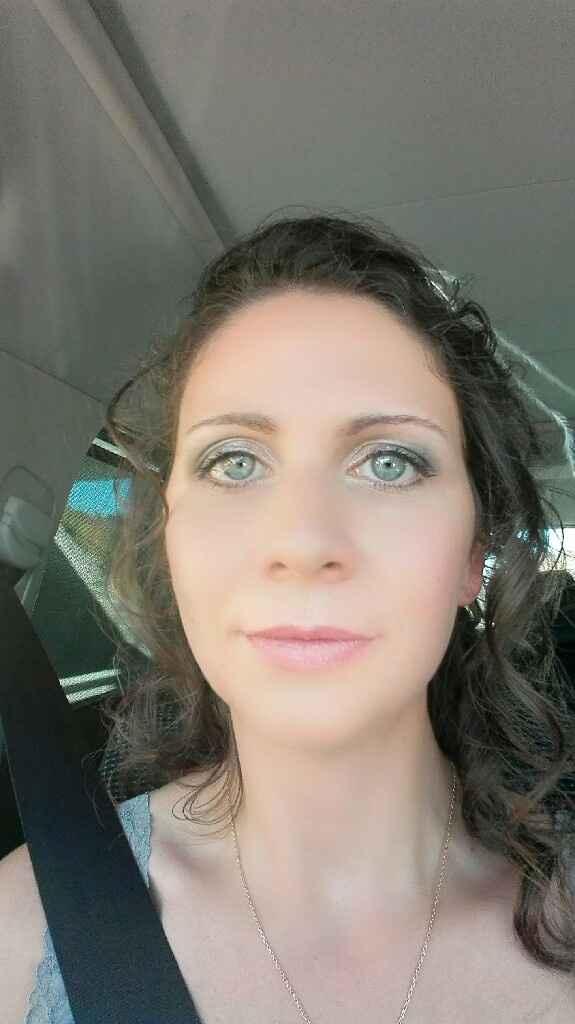 Essai coiffure et maquillage - 1