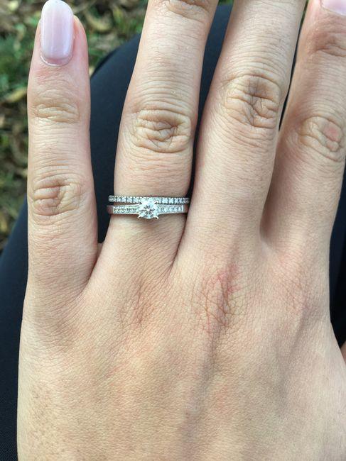 Demande en mariage et bagues de fiançailles 5