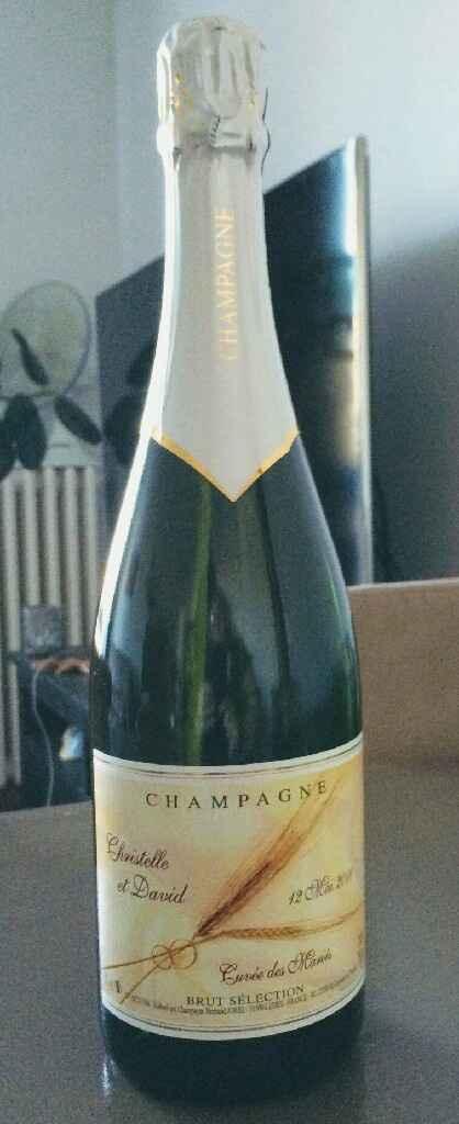 Etiquettes Bouteilles champagne - 1
