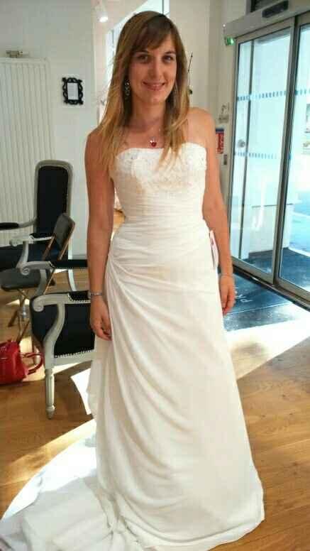 Premier essaie robe :)