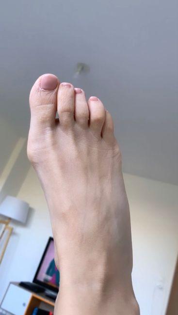 J-4, les sourcils sont enfin fait, et les pieds aussi - 2