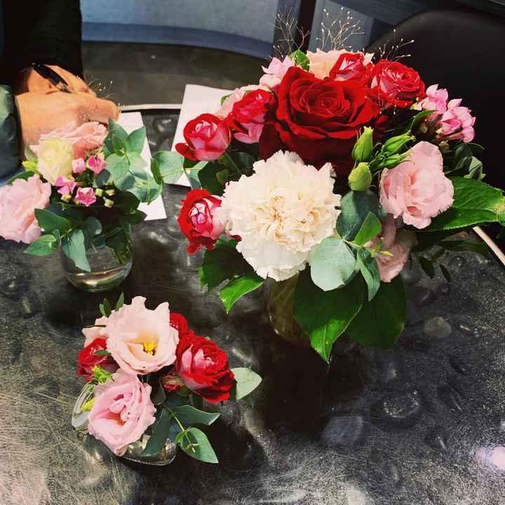 Essai floral centre de table - 1