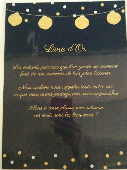 Panneaux Texte Urne Et Livre D Or Decoration Forum