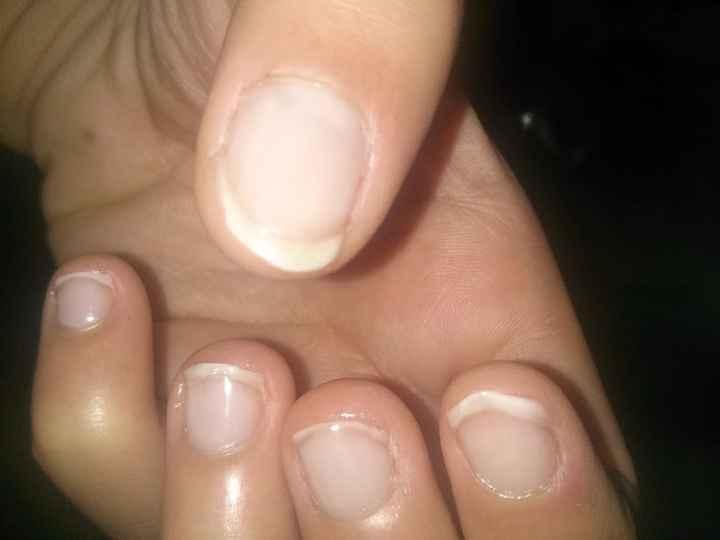 1 mois ongles