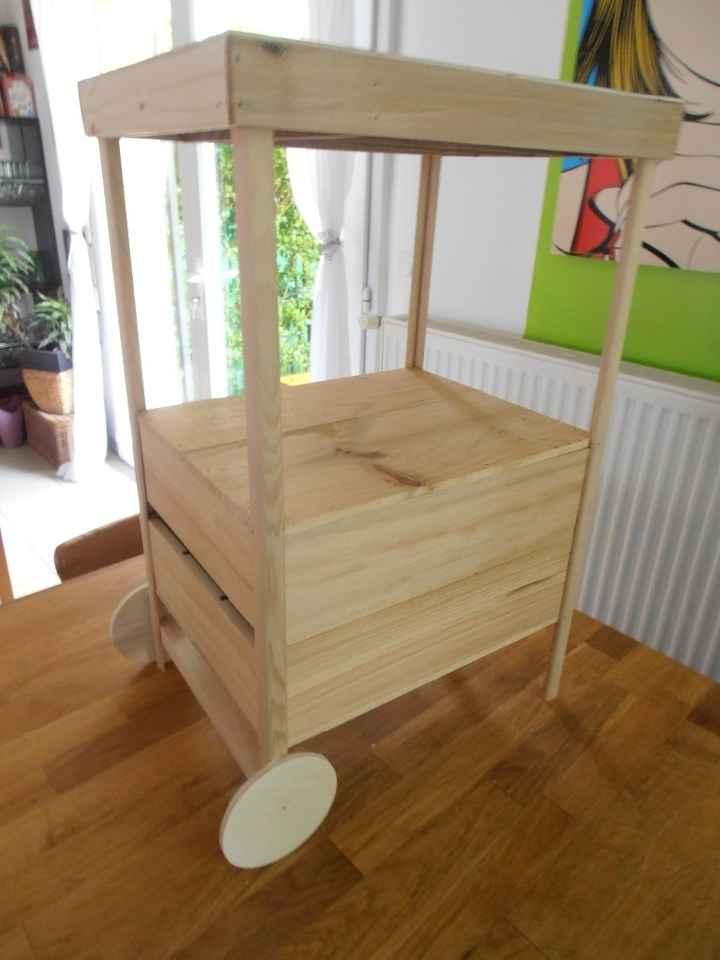 Fabrication de l'urne étape 4
