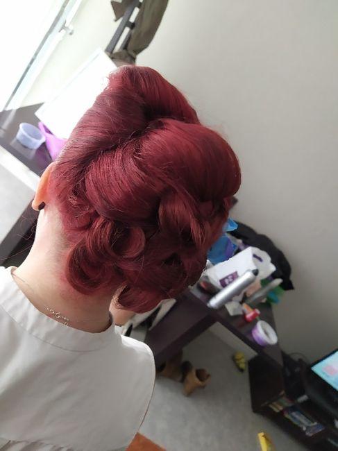 Mon premier essai coiffure - 1