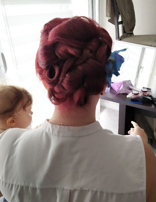 Mon premier essai coiffure - 2