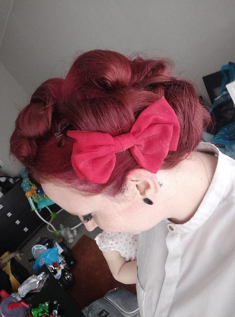 Mon premier essai coiffure - 4